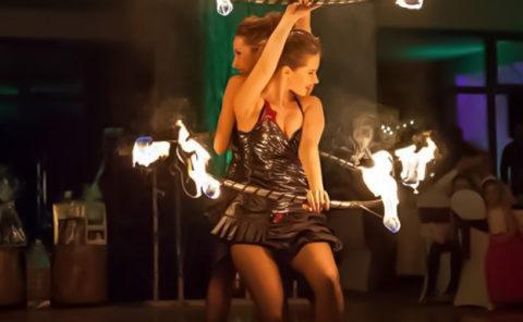 Anta Agni Fire show Hula Hup Hotel Partizan Silvester