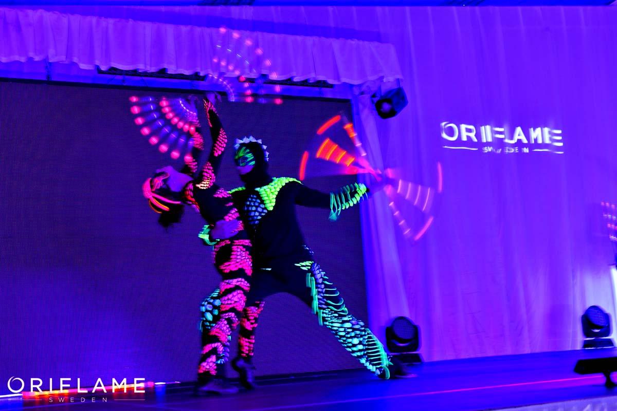 Anta Agni UV Show Oriflame Event