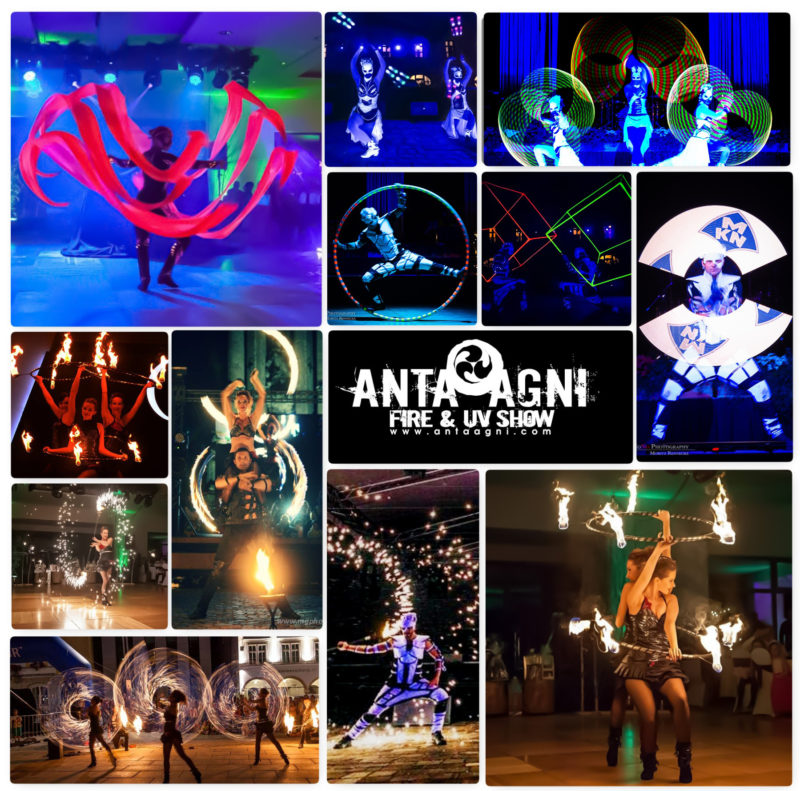 Anta Agni Referencie Fire a UV Show