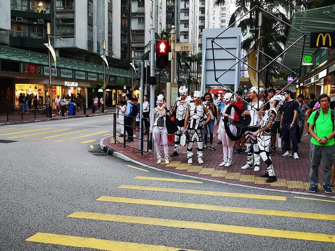 Ulice Hongkongu - Anta Agni vystúpenie