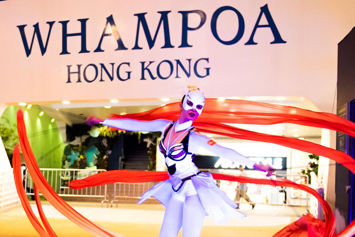 Anta Agni svetelná šou Hongkong